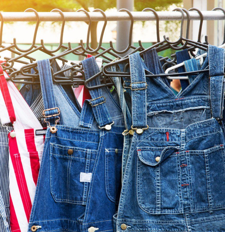 There are all different types of denim overalls to choose from!