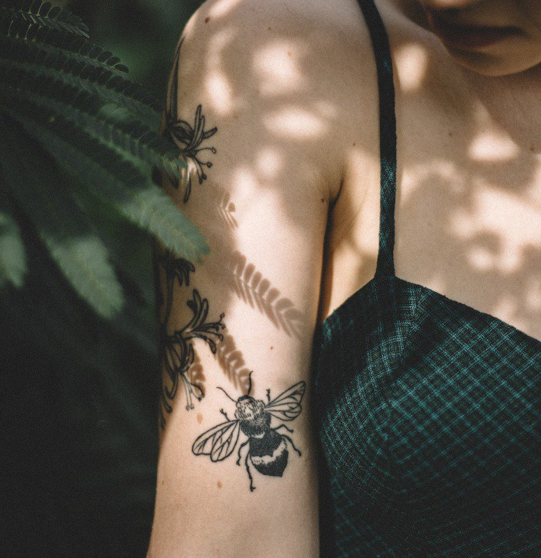 I've been thinking of getting a bee tattoo
