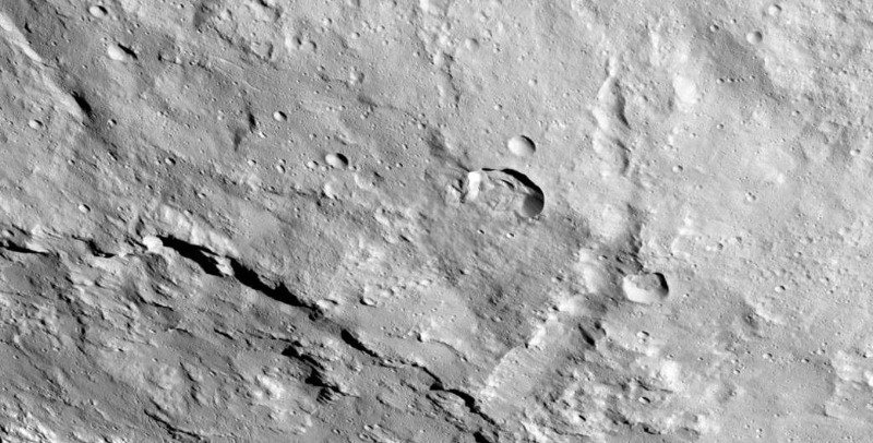 A close-up of Ceres