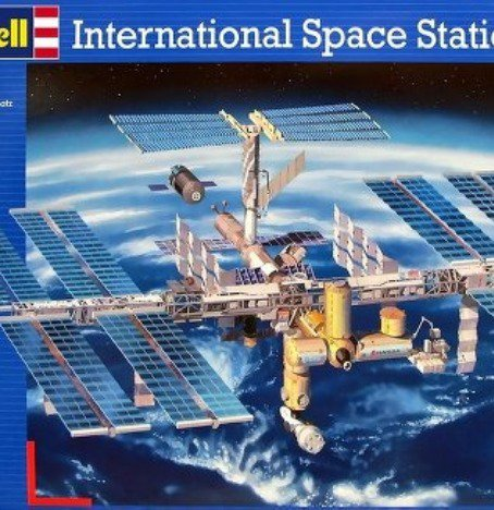 A space station model