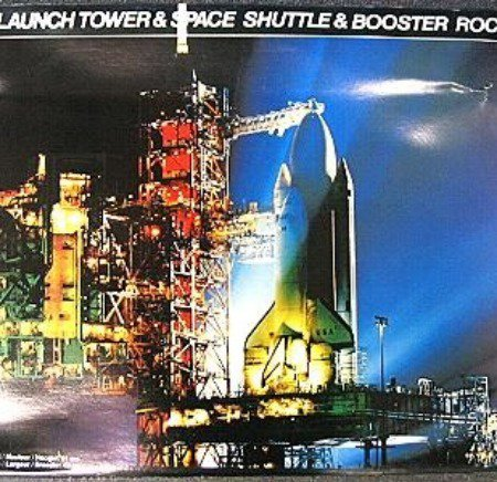 Launch tower model kits