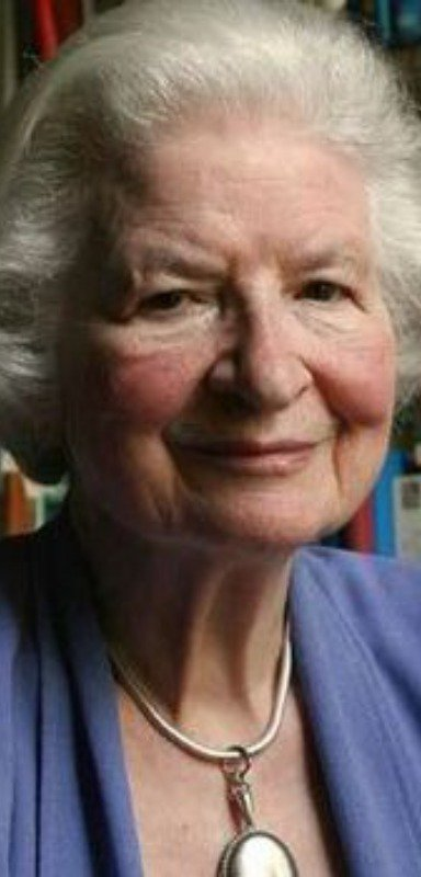 P.D. James passed away in 2014.
