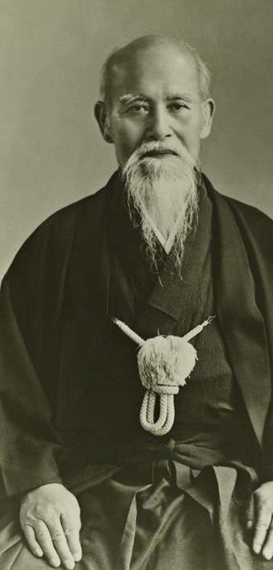 The inventor of Aikido.