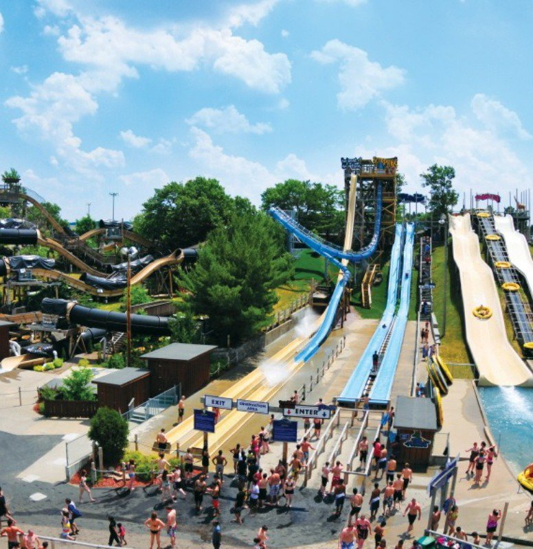 Water parks galore