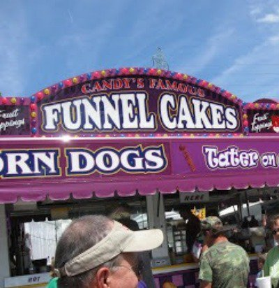 I always need a funnel cake whenever I see one!