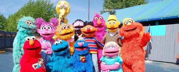 The characters of Sesame Street await you!