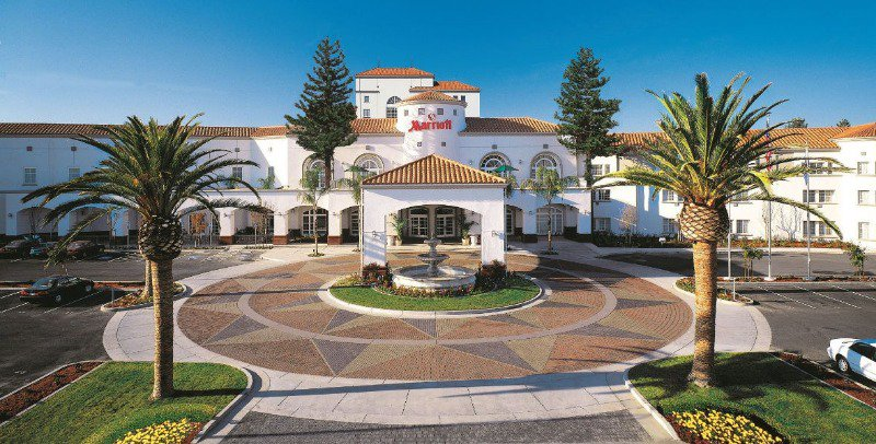 The San Mateo Marriott hotel is where we will be staying.
