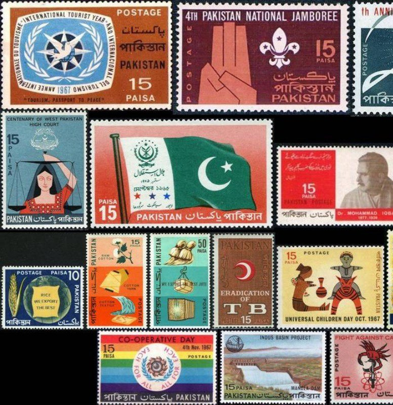 Collector stamps