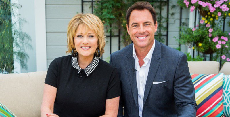 Cristina Ferrare and Mark Steines on