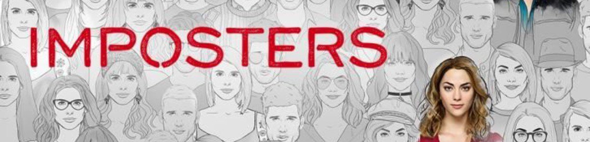 Imposters poster for season two this year