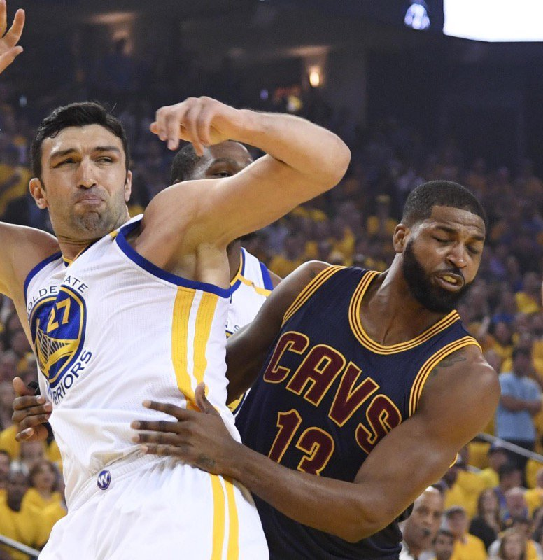 Thompson couldn't get it together for Game 1.